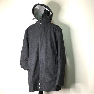 ⭐️HOST PICK⭐️Hugo Boss Wool Blend Hooded Coat